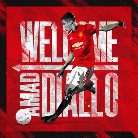 Diallo chính thức gia nhập M.U