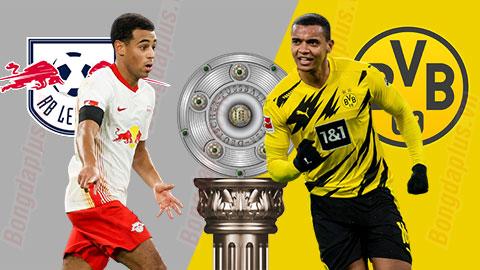 Nhận định bóng đá RB Leipzig vs Dortmund, 0h30 ngày 10/1