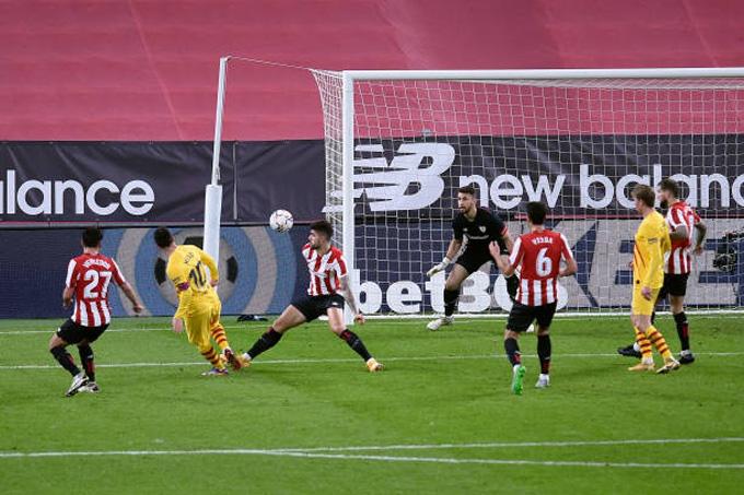 Messi lập cú đúp trong trận đấu Bilbao vs Barca