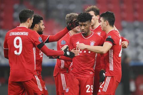 Hàng công thăng hoa sẽ đảm bảo một chiến thắng cho Bayern trước  chủ nhà M'gladbach