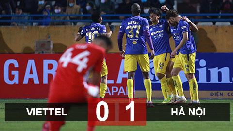 Kết quả Viettel vs Hà Nội - Siêu cúp Quốc gia