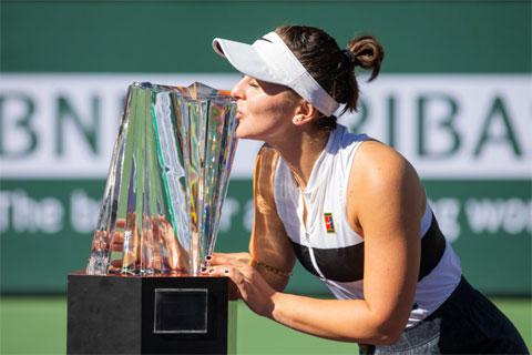 Bianca Andreescu vô địch đơn nữ Indian Wells 2019, còn Dominic Thiem vô địch đơn nam