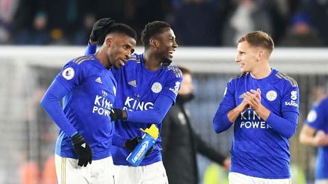 Dù không tung ra đội hình mạnh nhất, lúc này Leicester vẫn dư sức vượt qua chủ nhà Stoke