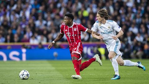 Real đang muốn chiêu mộ Alaba (trái) đã thay thế Ramos