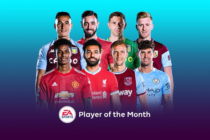 Đề cử cầu thủ hay nhất tháng Ngoại hạng Anh