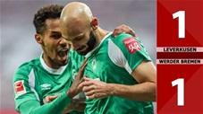 Bayer Leverkusen 1-1 Werder Bremen (Vòng 15 Bundesliga 2020/21)