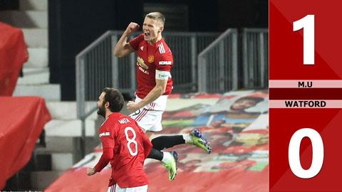 Manchester United 1-0 Watford (Vòng 3 FACup 2020/21)