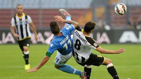 Vòng 17 Serie A: Napoli đẩy Juventus xuống thứ 6, Lazio tiến gần top 4