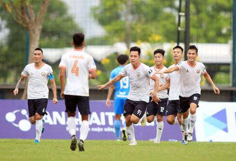 Dù là một tân binh, Topenland Bình Định lại là CLB được đầu tư lớn tại V.League 2021 - Ảnh: Minh Tuấn