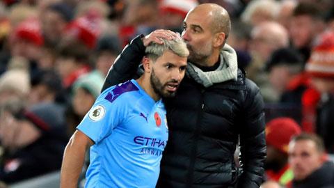 Aguero có thể trở lại ở đội hình chính Man City trong trận gặp Birmingham