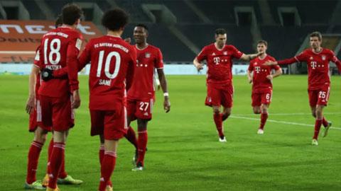 Bayern bất ngờ thất thủ 2-3 trước M'Gladbach: Hàng thủ tệ hại làm biến dạng Bayern