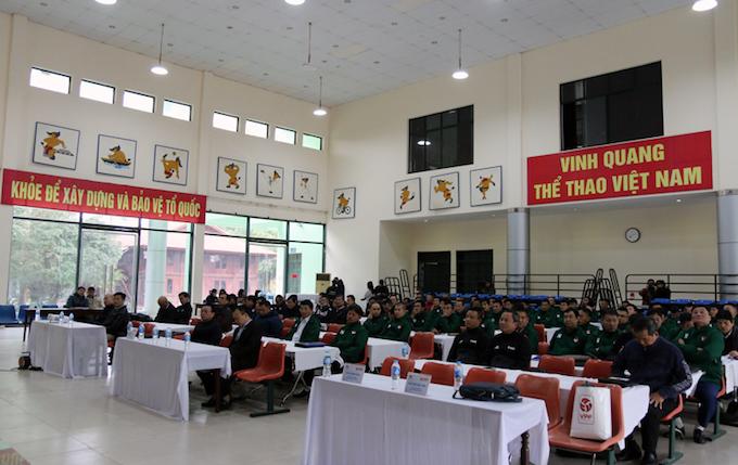Các thành viên tham gia khoá huấn luyện