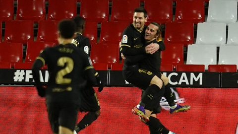 Messi tỏa sáng với 2 cú đúp bàn thắng ở 2 trận gần đây