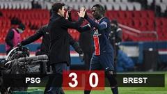 Kết quả PSG 3-0 Brest: Chiến thắng đầu tay của Pochettino
