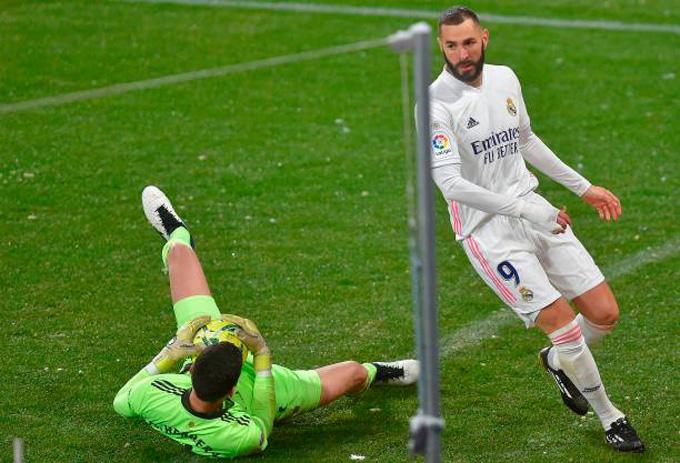 Hàng công của Real đã có 1 trận đấu nhạt nhòa