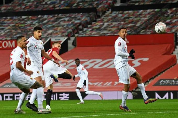 McTominay ghi bàn duy nhất trong trận đấu M.U vs Watford tại vòng 3 FA Cup