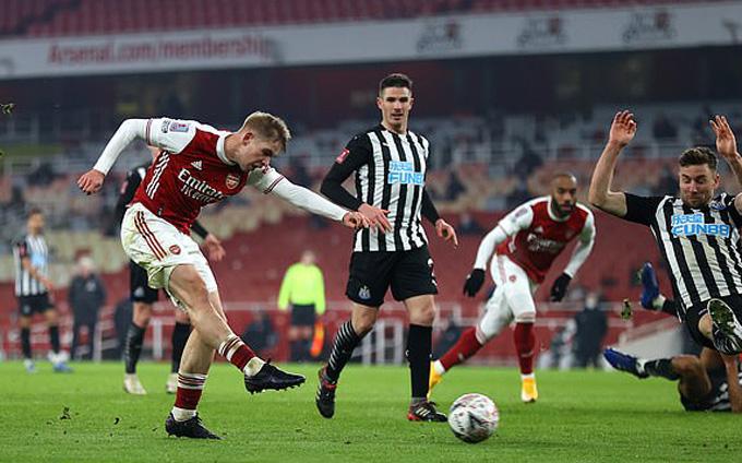Smith-Rowe ghi bàn, mở ra chiến thắng cho Arsenal trước Newcastle