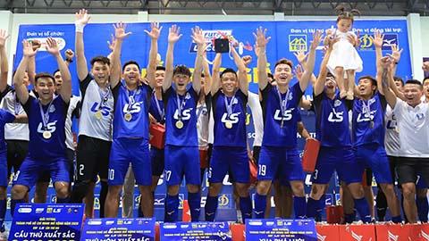 Thái Sơn Nam lọt vào Top 10 CLB futsal xuất sắc nhất thế giới