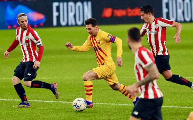 Messi đang trở lại với phong độ cao nhất
