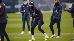 Neymar tập luyện trở lại, chuẩn bị ra sân dưới thời Pochettino