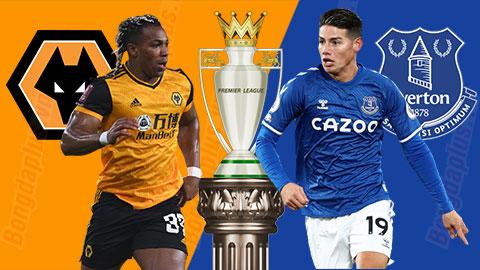 Nhận định bóng đá Wolves vs Everton, 03h15 ngày 13/1