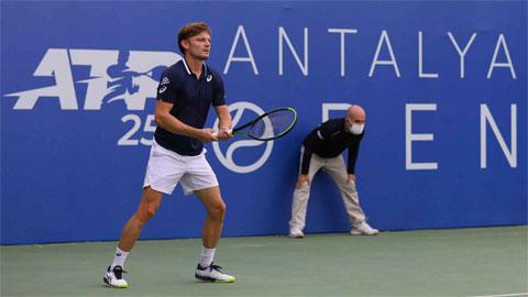 David Goffin đoạt vé bán kết Antalya Open 2021