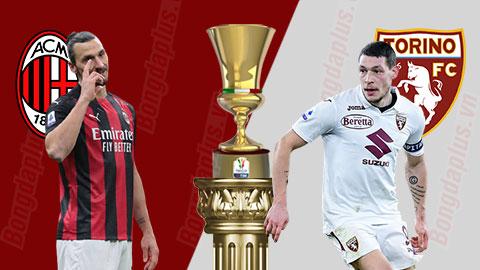 Kết quả Milan 0-0 Torino (pen 5-4): Ibrahimovic đá chính, Milan nhọc nhằn vào tứ kết Coppa Italia