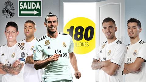 """Real """"xả hàng"""" 6 ngôi sao, dồn tiền mua Mbappe hè 2021"""