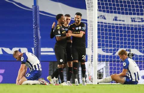 Man City tự tin hướng tới chiến thắng thứ 8 liên tiếp trước Brighton