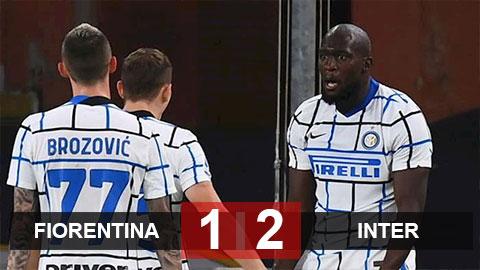 Kết quả Fiorentina 1-2 Inter: Lukaku sắm vai người hùng, Inter vào tứ kết Coppa Italia