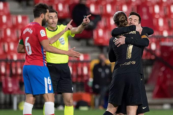 Messi hồi sinh cùng sự ăn ý với các đồng đội
