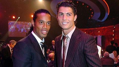 Barca từng chối chiêu mộ Ronaldo vì Ronaldinho