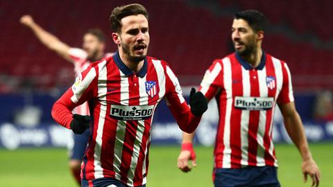 Atletico vô địch lượt đi La Liga