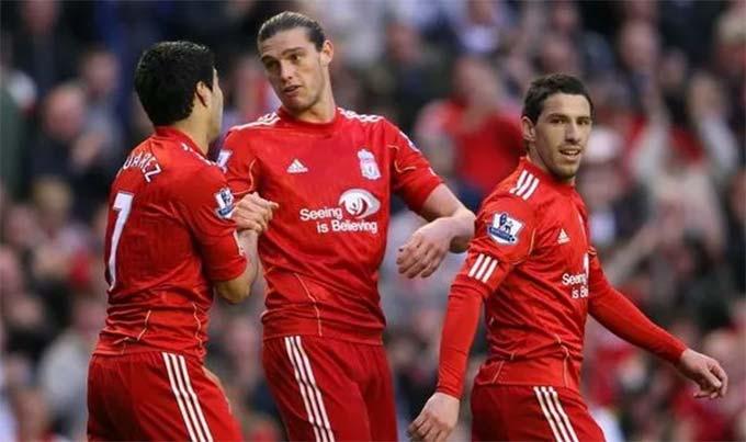 Carroll không lấp được khoảng trống do Torres để lại ở Liverpool