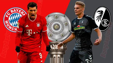Nhận định bóng đá Bayern vs Freiburg, 21h30 ngày 17/1: Chặn đà khủng hoảng