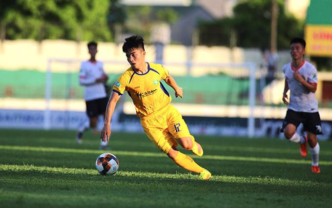 SLNA từng vất vả thắng Bình Định ở Cúp QG mùa giải năm ngoái