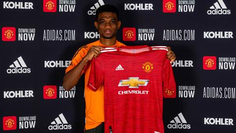 Amad Diallo  ra mắt M.U