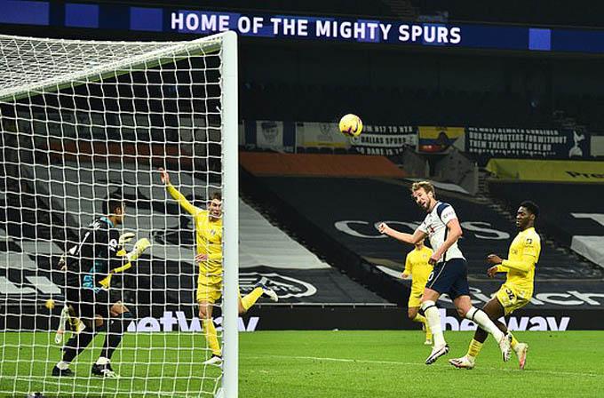 Kane ghi bàn nhưng Tottenham không thể đánh bại Fulham