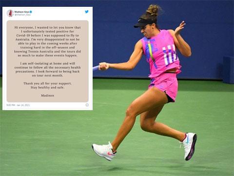 Madison Keys từng lọt vào bán kết Australian Open 2015