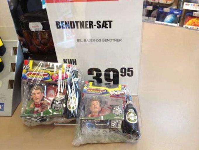 Gói đồ chơi Bendtner bán chạy như tôm tươi