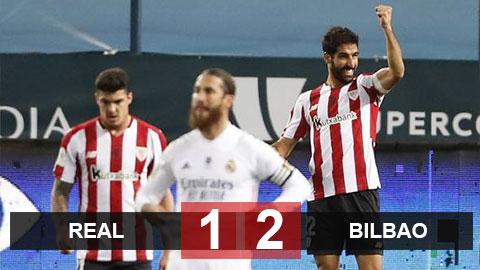 Kết quả Real 1-2 Bilbao: Real vỡ mộng 'Kinh điển'
