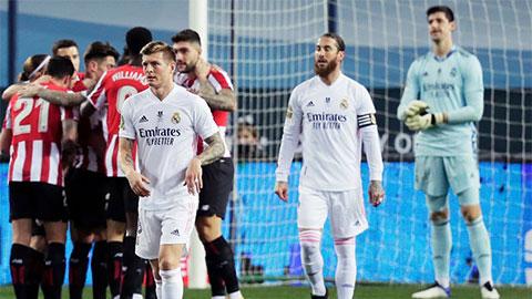 Điểm nhấn Real 1-2 Bilbao: VAR 'vừa đấm, vừa xoa' Real