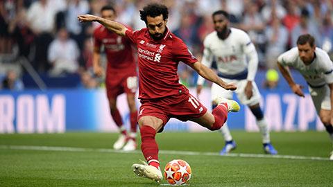 Salah là chuyên gia đá penalty của Liverpool