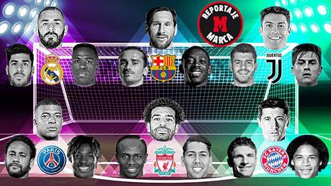 Real đừng mơ vô địch Champions League với hàng công siêu cùn