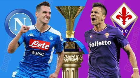 Nhận định bóng đá Napoli vs Fiorentina, 18h30 ngày 17/1