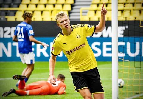 Haaland đã sẵn sàng nổ súng giúp Dortmund có chiến thắng cách biệt