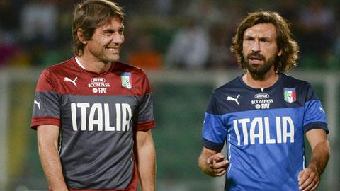Inter vs Juventus: Cuộc chiến giữa thầy trò Conte và Pirlo