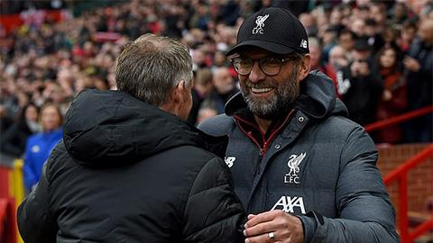 Klopp tuyên chiến với Solskjaer trước trận Liverpool vs M.U