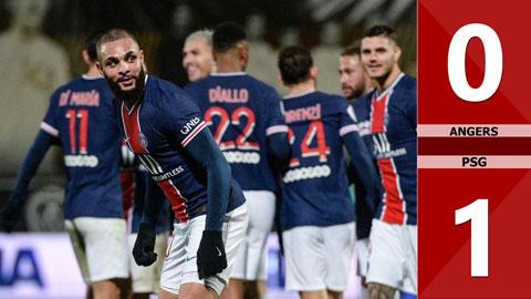 Kết quả Angers 0-1 PSG: Gã trọc phú thành Paris leo lên ngôi đầu Ligue 1