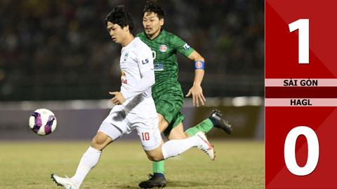Sài Gòn 1-0 HAGL (Vòng 1 V.league 2021)